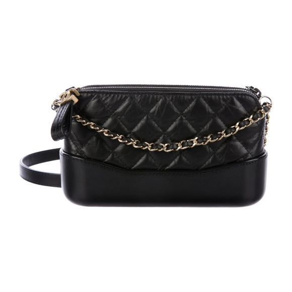 12d34c562a5f4c CHANEL Handbags - Chanel Gabrielle Clutch w/two tone chain